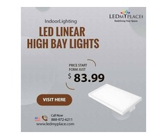 Install LED Linear High Bay Light To Make Even Corners Visible