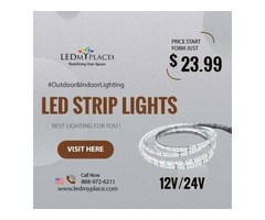 Install the Latest Technology LED Strip Lights at Very Affordable Cost