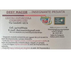 Italian language course