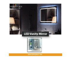 Installing Cheap LED Vanity Mirrors Inside Bathrooms !!