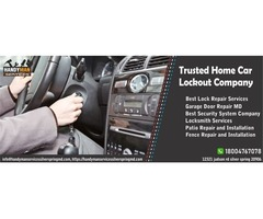 Trusted Home Car Lockout Service