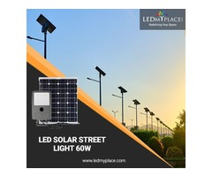 60W Solar LED Street Light Set Is a Perfect Combination Of Solar Lights And LED Lighting Technology