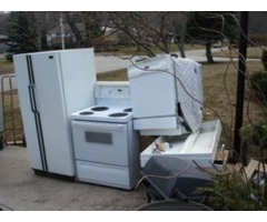 Earth-conscious appliance removal
