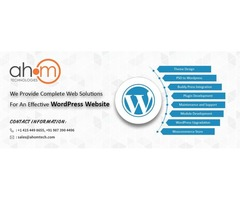 WordPress website design by top WordPress web development company