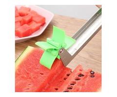 Watermelon Windmill Cubes Cutter Creative Slice Fruit Cutting