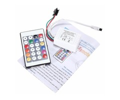 DC12V 24 Key IR Remote Controller for WS2811 LED Strip Light