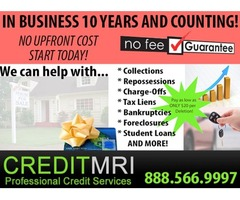 Zero Down Credit Repair