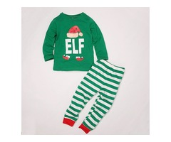 Merry Christmas Printing Matching Family Pajamas Sets