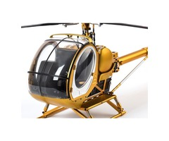 SCHWEIZER Hughes 300C Scale 9CH RC Helicopter Brushless RTF All Metal high Simulation Remote Control