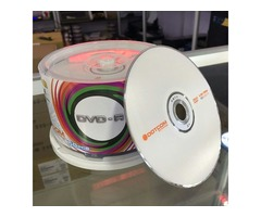 Blank Disc DVD-R 50pcs/box 4.7GB for any kinds of Customized DVDs , Movies, Cartoons.TV series, CDs
