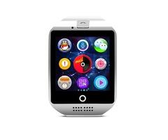 Q18 Smart Watch Sport Pedometer SIM TF Card Camera Sleep Monitor Sync WhatsApp Facebook Reminder Wat