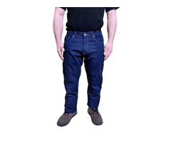 Fully Lined Kevlar Motorcycle Riding Jeans
