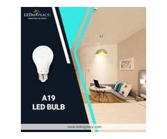 Hurry Up !! Install A19 LED Bulb to have Modern Home Decor