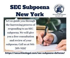 SEC Subpoena NYC
