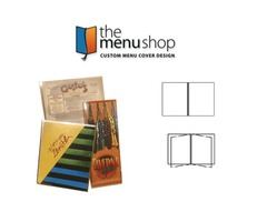 All Clear Vinyl Menu Covers for restaurant | The Menu Shop