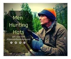 Men Hunting Hats | Wool Hunting Hats - Alpacasofmontana