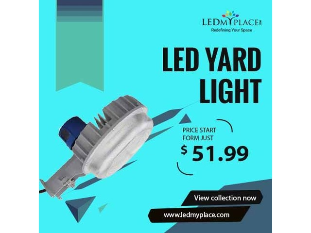 (LED Yard Light) - Ideal Lighting Solution For Your Garden | free-classifieds-usa.com