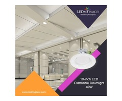 Last Chance To Buy Commercial 10 inch LED Downlights On Heavy Discount