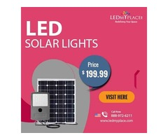 Choose The Best Outdoor LED Solar Lights ToSave 100% Of Energy