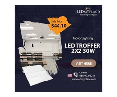 Install (2X2 LED Troffer) 5000k that will Make Residential Places More Sophisticated