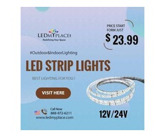 Impress Life Independence Day Decor Your Homes By UsingLED Strip Lights