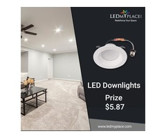 Switch to  (LED Downlights) that is Useful to Reduce Light Glare