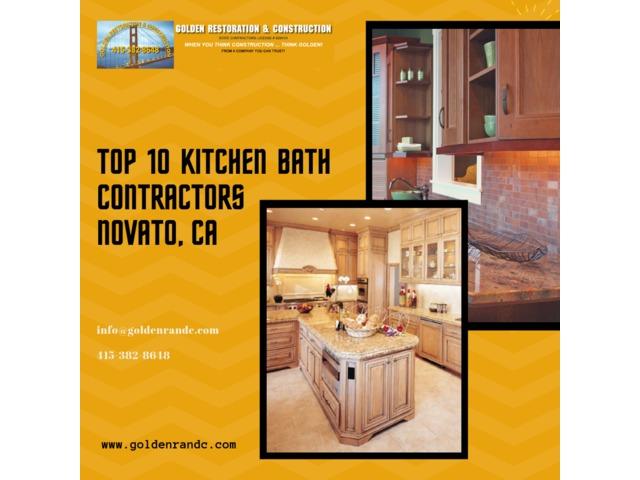 TOP 10 Kitchen Bath Contractors Novato, CA - Construction