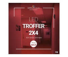Make Commercial Places Beautiful by Installing 2x4 LED Troffer Lights