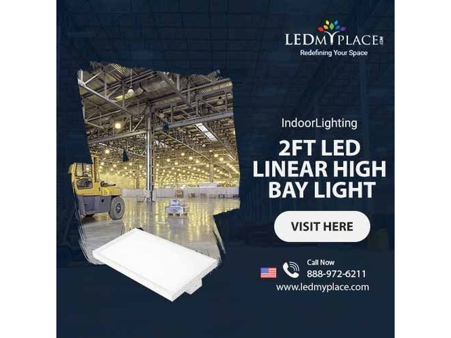 Reduce Installation Cost Greatly by Installing (2ft LED Linear High Bay Lights) | free-classifieds-usa.com