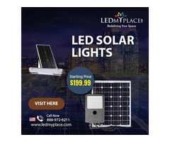 Buy LED Solar Lights For Home Outdoor At Affordable Cost
