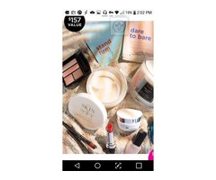 You can win a lot of beauty cosmetics valued at $157.00