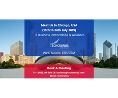Techcronus - Business Meeting In USA