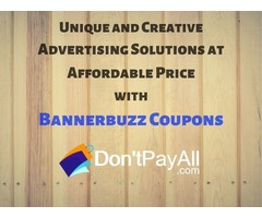 BannerBuzz Coupon: For Inexpensive Marketing Materials