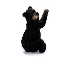 Cast Resin Bear Cub Wall Decor