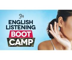 English lessons focusing on listening skills