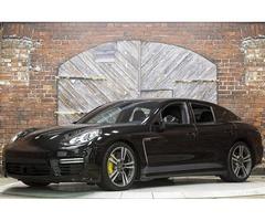 2014 Porsche Panamera Turbo S Black 570 hp AWD PDK
