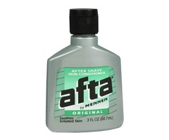Afta after shave lotion