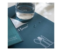 hotel and restaurants menu covers