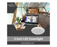Install 4 inch LED Downlight at Astonishing Price