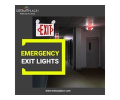 Make Commercial Buildings Safer by Using LED Emergency Exit Lights