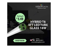 Best Hybrid T8 4ft LED Frosted Tube in Sale - Grab Now
