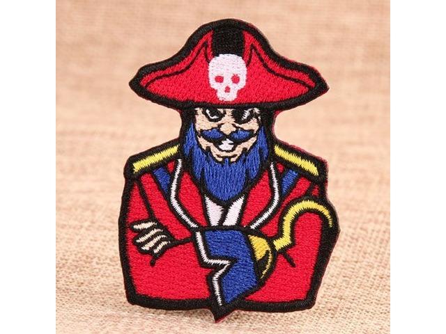 PirateCustomEmbroideredPatches