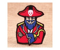 Pirate Custom Embroidered Patches
