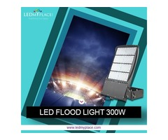 Install Stylish Black Flood Lights LEDs to make Place more Ambient