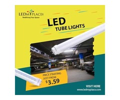 Grab Now the Best LED Tubes by LEDMyplace in USA