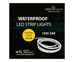 Install High-Quality Waterproof LED Strip Lights At Affordable Price