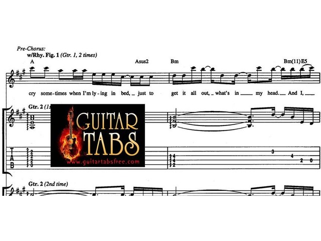 Guitar Tabs, Scales, Song books, Chords, Sheet Musics, Lyrics Free Downloads | free-classifieds-usa.com