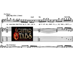Guitar Tabs, Scales, Song books, Chords, Sheet Musics, Lyrics Free Downloads