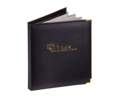 Shop Amazing Captain's Book Menu Cover | Themenushop