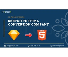 Sketch to HTML Responsive Conversion Services